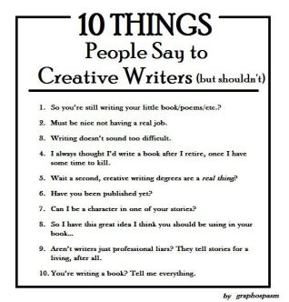 10-things-people-say-to-creative-writers
