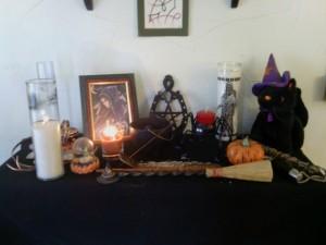 This year's Samhain altar